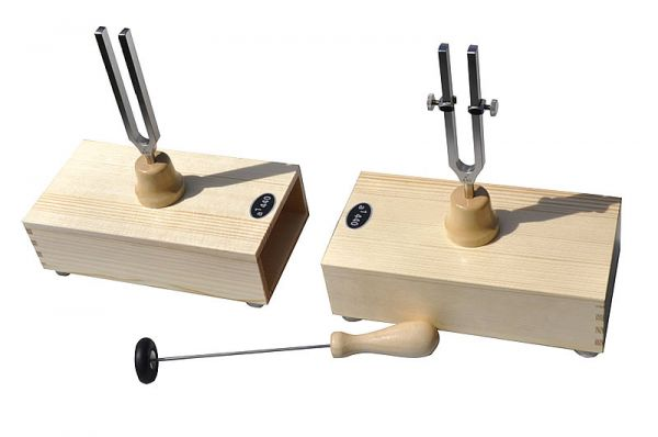 Physical tuning forks