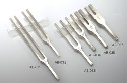 Tuning forks for Aurists without clamps