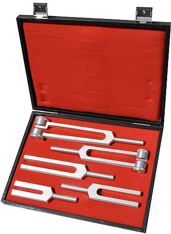 Medical tuning forks